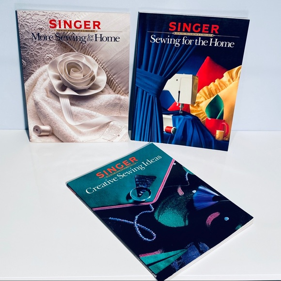 Vintage SINGER Magazines Set Of 3
